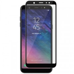 Folie Sticla Securizata 5d Full Screen 2mm (full Glue) Samsung Galaxy A6 2018 / J6 2018, Black