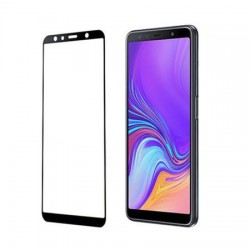 Sticla Securizata 5d Full Screen 2mm (full Glue) Samsung Galaxy A7 2018, Black (Blister)