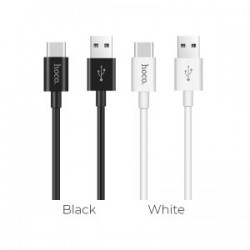 Cablu Hoco X23 Skilled Charging data cable for TYPE C, Black