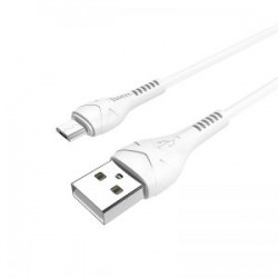 Cablu Hoco X37 Cool Power Charging Micro Usb, White