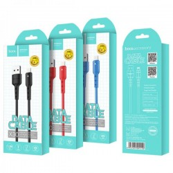 Cablu Hoco X30 Star Charging data cable for TYPE C, Red