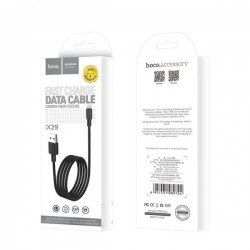 Cablu Hoco X29 Superior Style Charging data cable for Type-C, Black