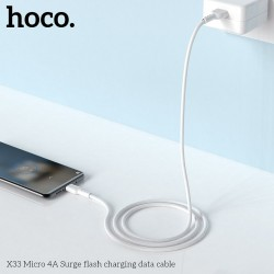 HOCO Surge FAST CHARGE 4A Micro X33 alb